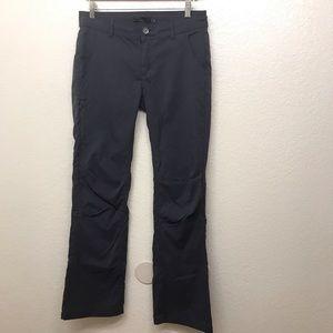Prana Pants Stretch Nylon Hiking Adjustable 8